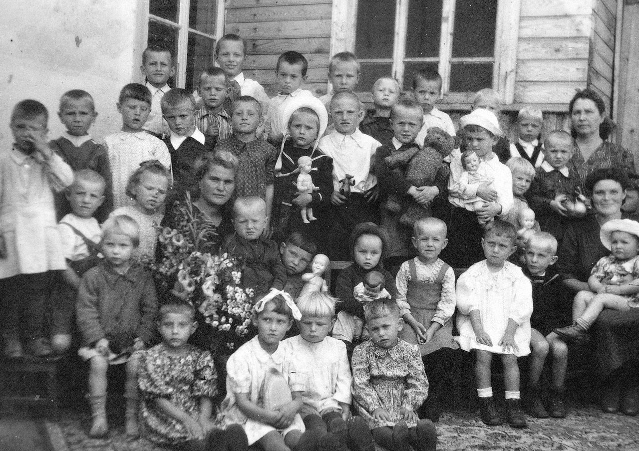 1950-е. В детском садике