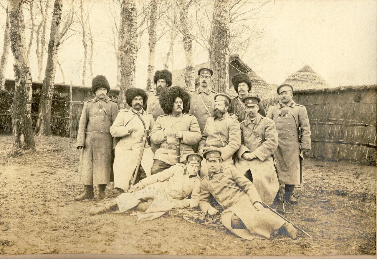 1905 г. 220-й Епифанский полк. Маньчжурия.