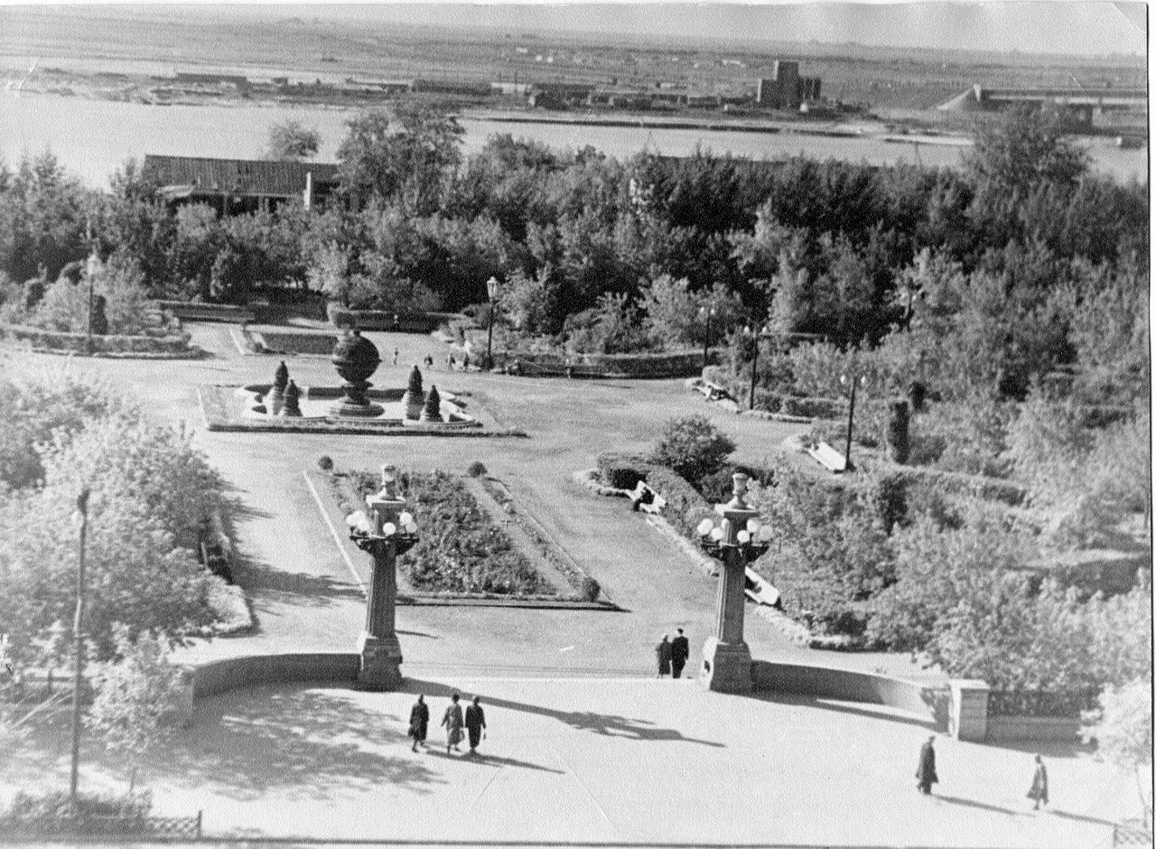Омск.1956 сквер.
