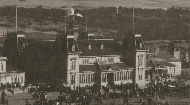 Торжественное открытие 14 июня 1884 Пляжного павильона