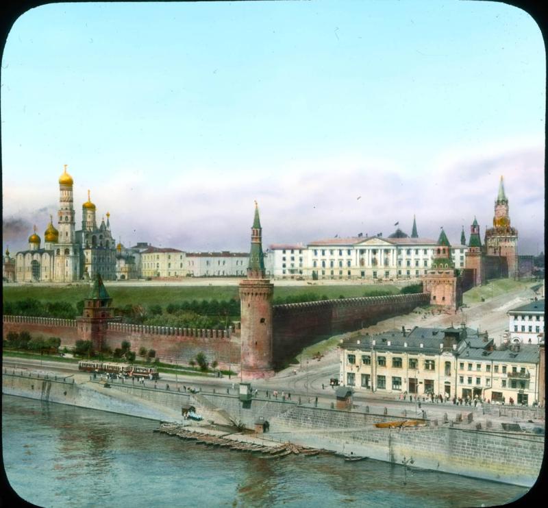Москва. Вид Кремля со стороны Москвы-реки