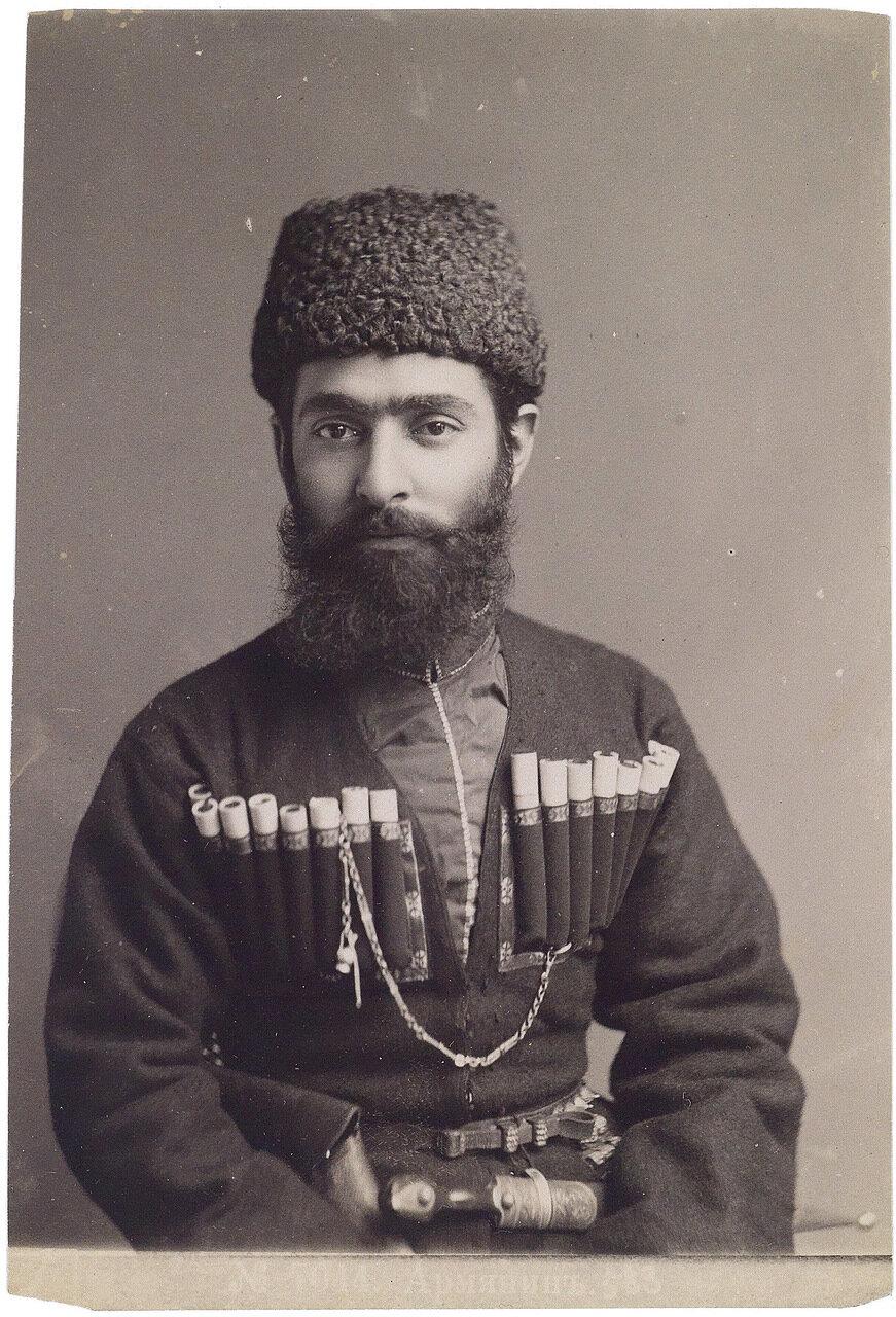 Армянин в кавказкой одежде. 1880-е