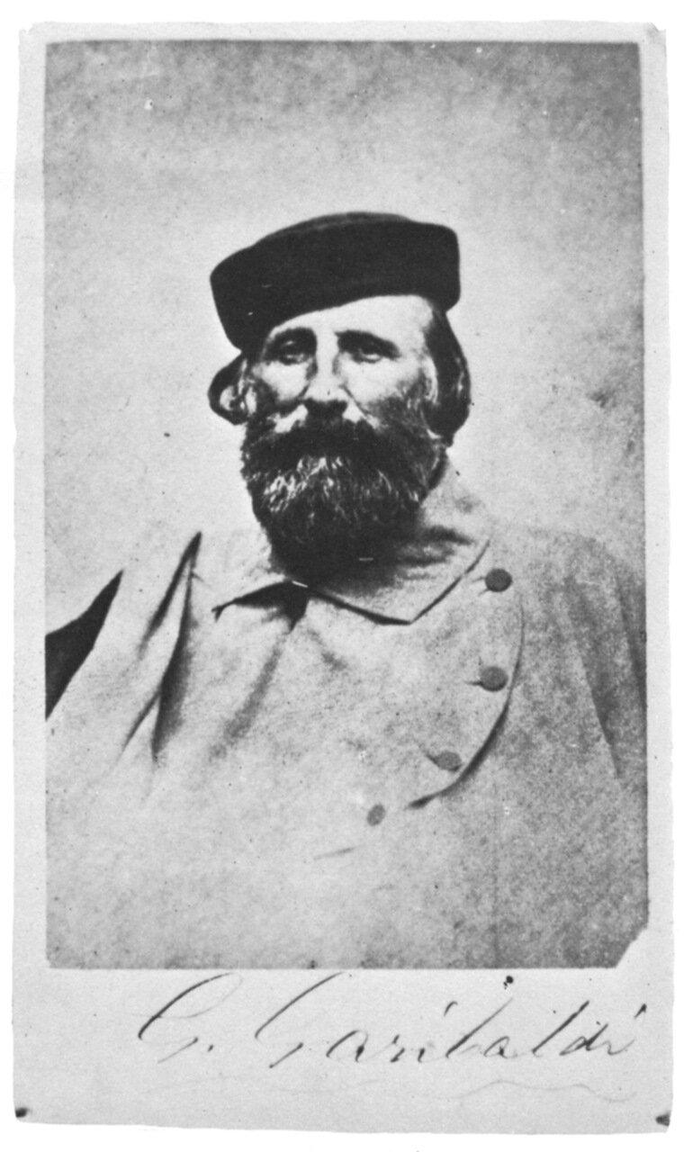 Джузеппе Гарибальди, 1870 г.