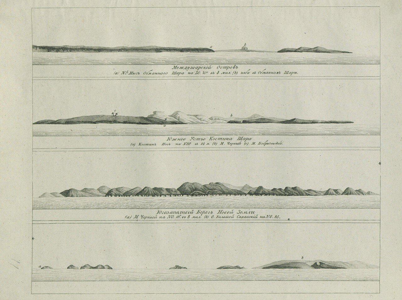 Междушарский остров. Южное устье Костина Шара. Юго-западный берег Новой Земли