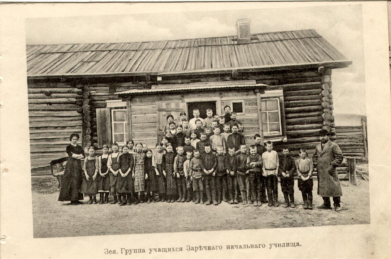 Группа учащихся начального училища