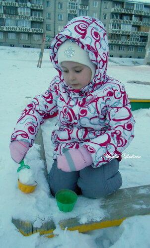 Занятия с детьми на зимних прогулках
