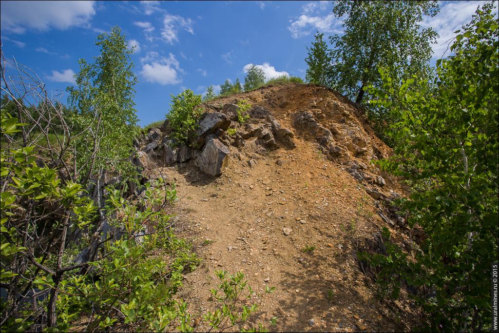 Иртяшский рудник наждака