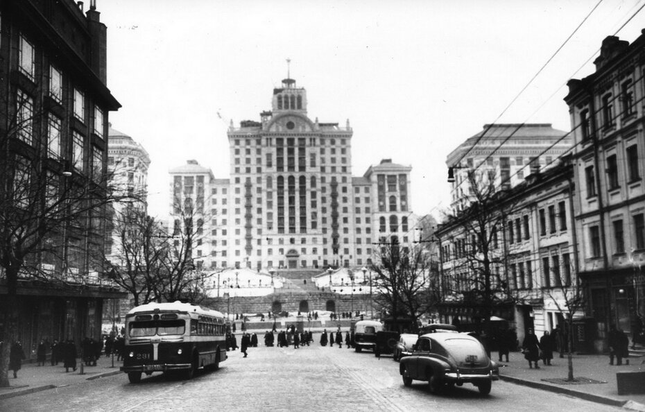 1954. Улица Ленина (ныне улица Богдана Хмельницкого)