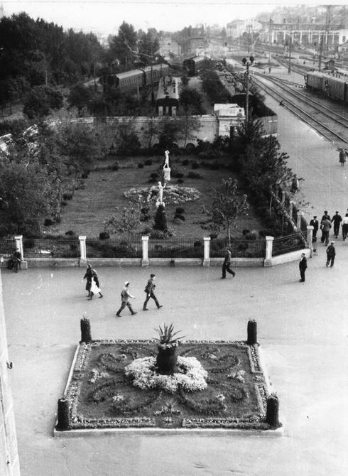 1949. Станция Киев-1 Пассажирский