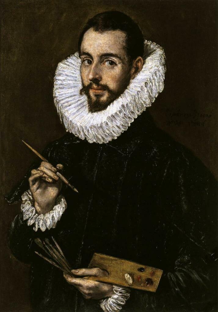 Портрет Хосе Мануэля Теотокопулоса, около 1603 , Эль Греко (1541-1614)