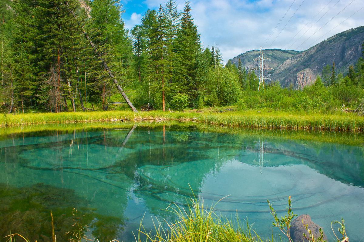 Гейзеровое озеро, база Мены, Алтай