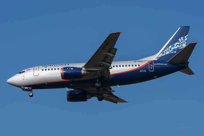 Boeing 737-505 (VP-BKV) Нордавиа DSC6633