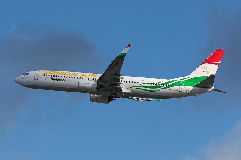 Boeing 737-93YER (P4-TAJ) Somon Air DSC6822