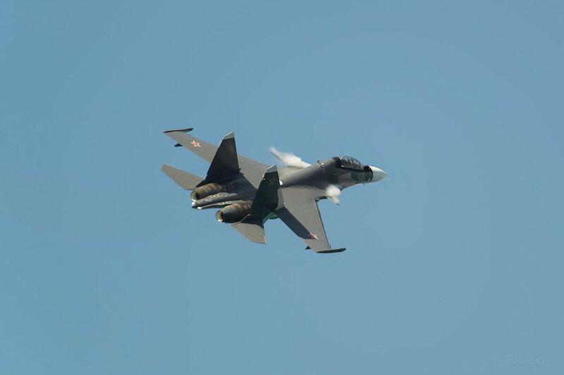 Сухой Су-30СМ (RF-93666 / 56 синий) D807498a