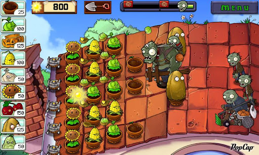 Plants vs. Zombies (Full) (Android игры)