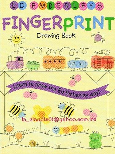 Рисунки из отпечатков пальцев