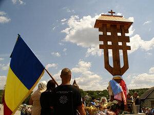 Молдова признала законной установку креста румынских фашистов