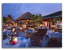 Сейшелы. О.Праслин. Raffles Praslin Seychelles. Curieuse_Restaurant
