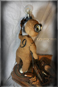 девятый кукла. куклы в стиле Steampunk купить