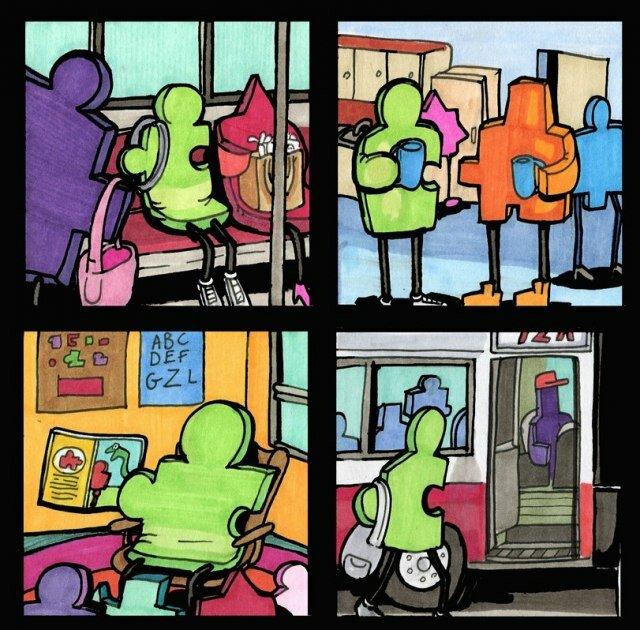 Комикс: Про теорию половинок