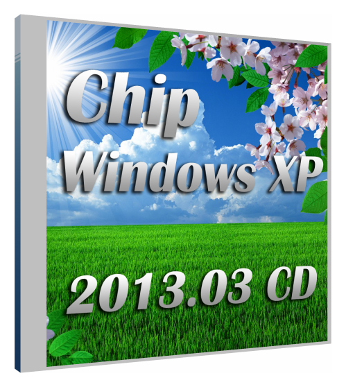 Chip Windows XP 2013.03 CD