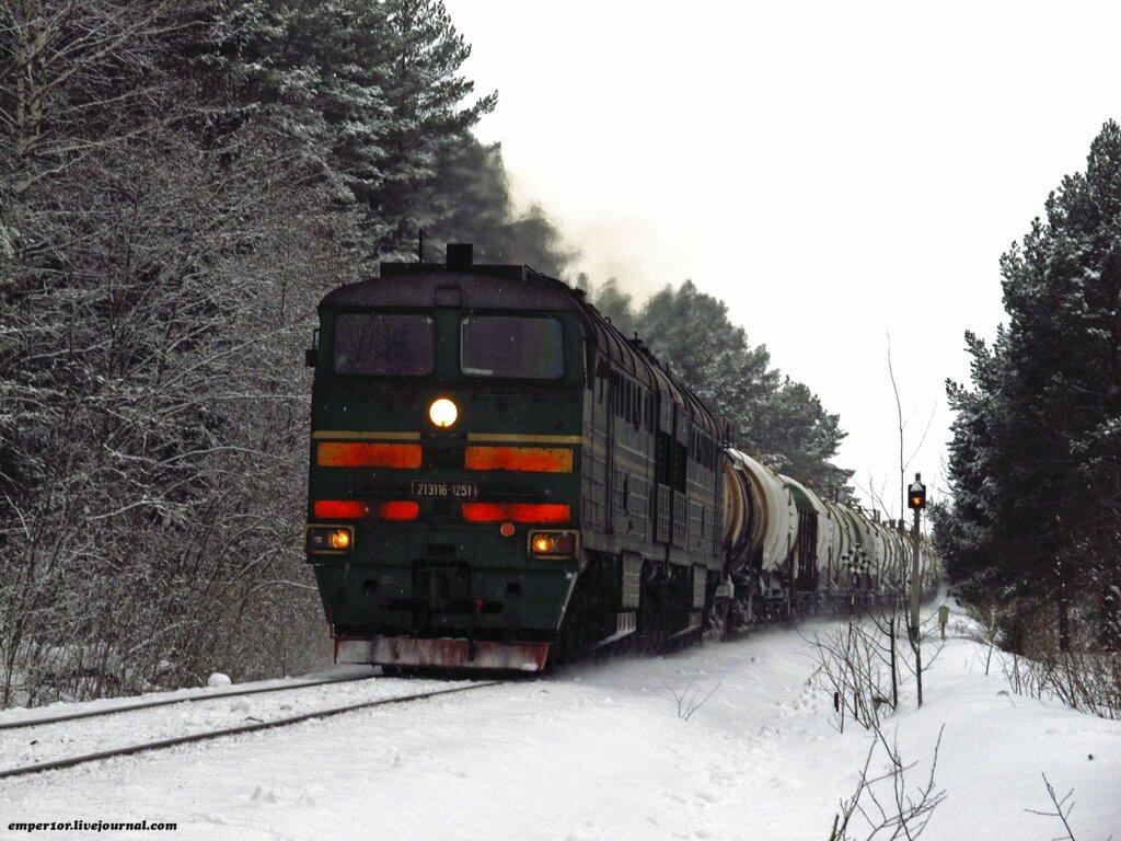 Возвращение грузовых поездов на линию Сонково-Савелово-Дмитров. Январь 2013 года. 0_a13e8_de2ee35b_XXL