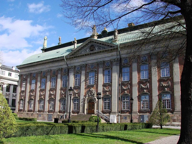 Riddarhuset (Swedish House of Lords ), Stockholm.