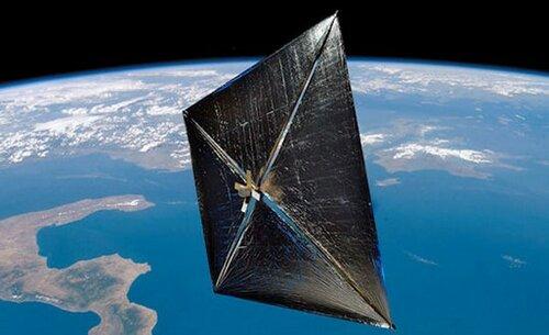 Cолнечный парус NASA