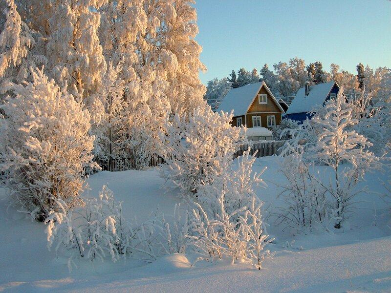 фото и картинки русской зимы пришла нам спустя