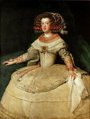 Музей истории искусств: Диего Веласкес - Портрет инфанты Марии Терезии