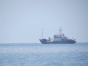 Балаклава, корабль в море
