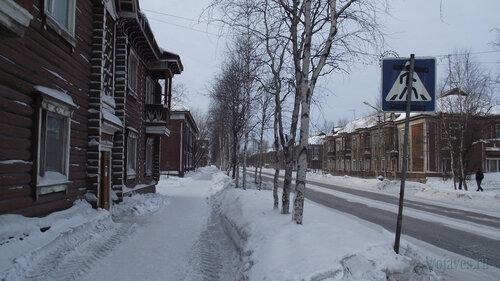 Фото города Инта №3204  Кирова 9, 11, 20 и 18 03.02.2013_12:13