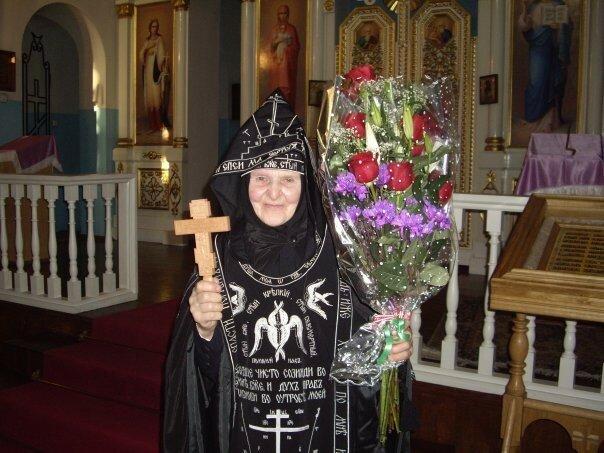 Схимонахиня Херувима. Постриг.