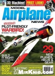 Журнал Model Airplane News 2009 No 10