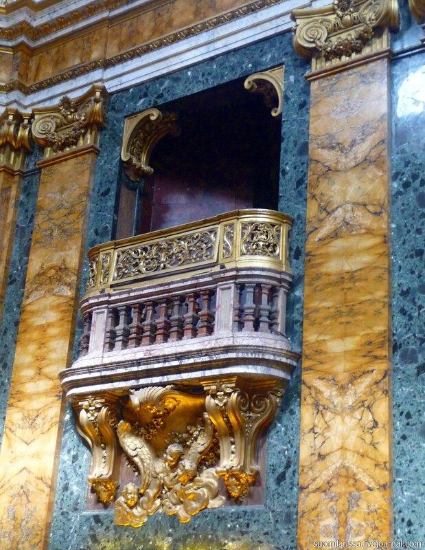 Roma. Chiesa S. Luigi dei Francesi.