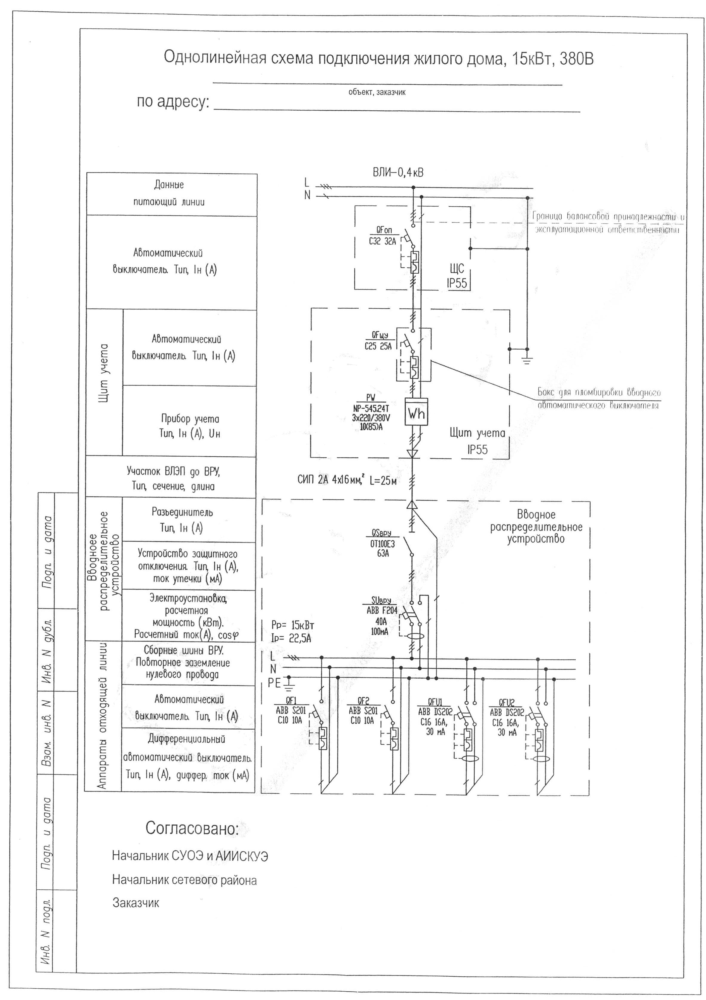 Черчение электрических однолинейных схем схемы генераторов