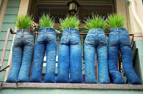 Вторая жизнь старых джинс