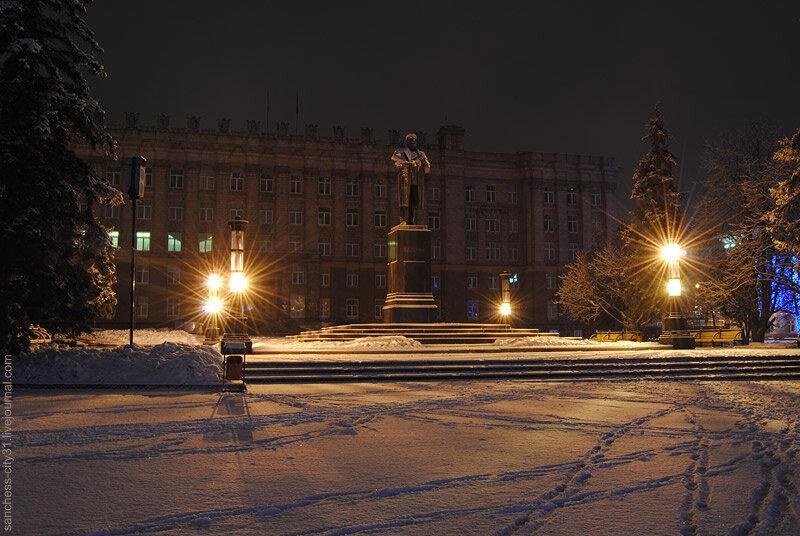 Памятник Ленину в Белгороде. Фото Alexander del Sanchess