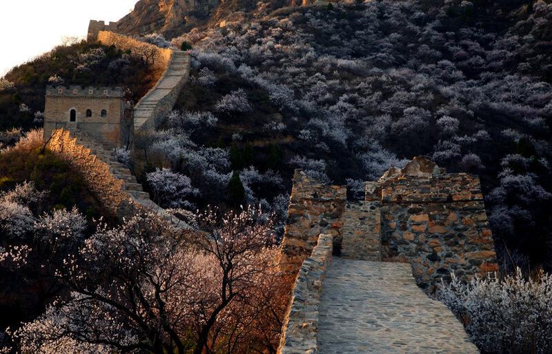 Чудесные виды Великой стены 2