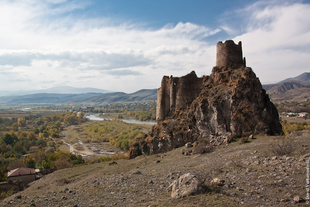 Грузия, дорога Боржоми-Ахалцихе, крепость Мокцевис-цихе