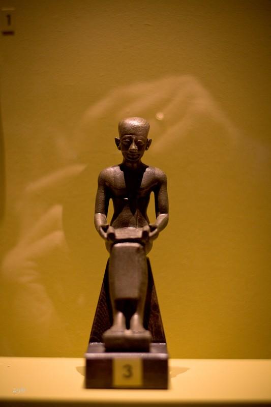 Имхотеп, визирь фараона Джосера и легендарный архитектор Ступенчатой пирамиды Поздний период, 6— 4 вв. до н. э.