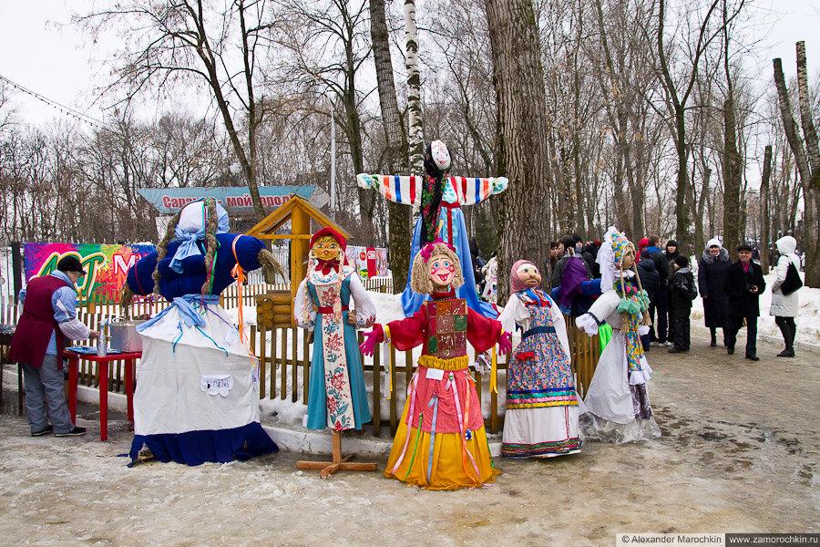 Куклы-чучела | Масленица в Саранске 17.03.2013
