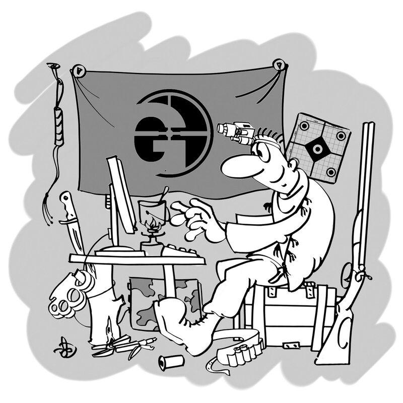 Cartoon by (c)Avdey /Aleksey Daev/