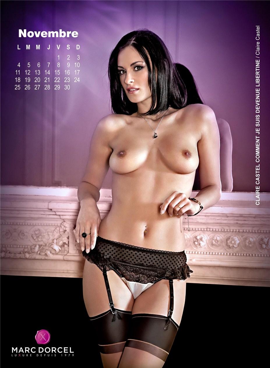 Эротический календарь студии Marc Dorcel на 2013 год - Claire Castel / Claire Castel Comment Je Suis Devenue Libertine