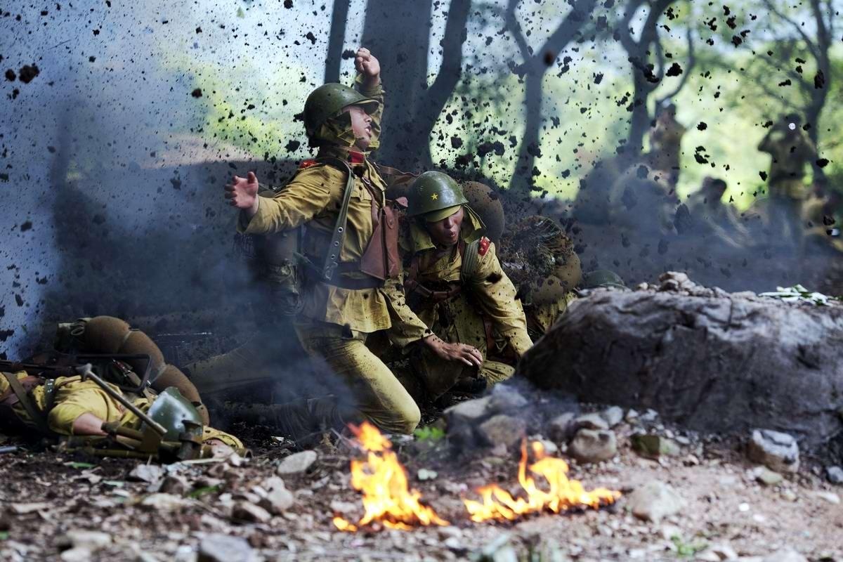 Война и немцы: На съемках китайского телесериала о 2-й мировой войне (6)