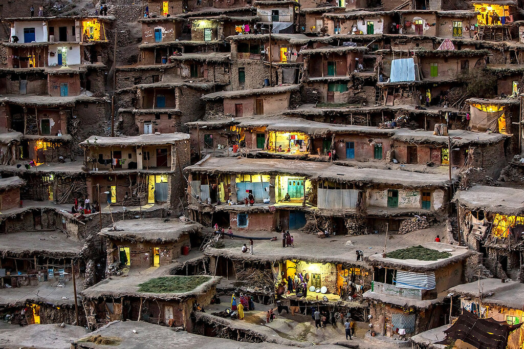 Деревня в Иране. Фото Mohammadreza Momeni
