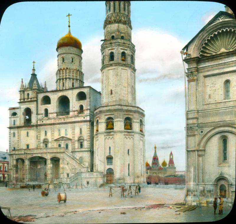 Москва. Кремль- Колокольня Ивана Великого