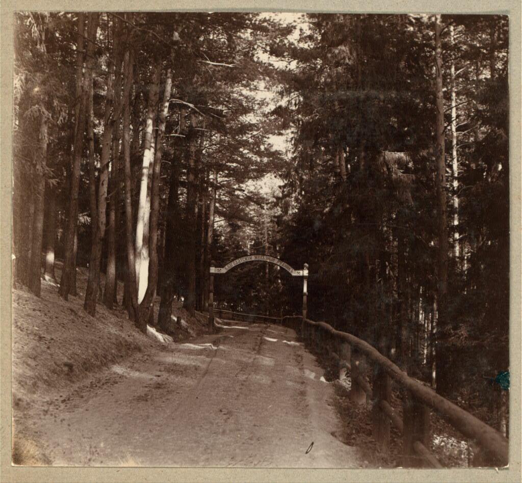 Въезд на г. Благодать. 1909