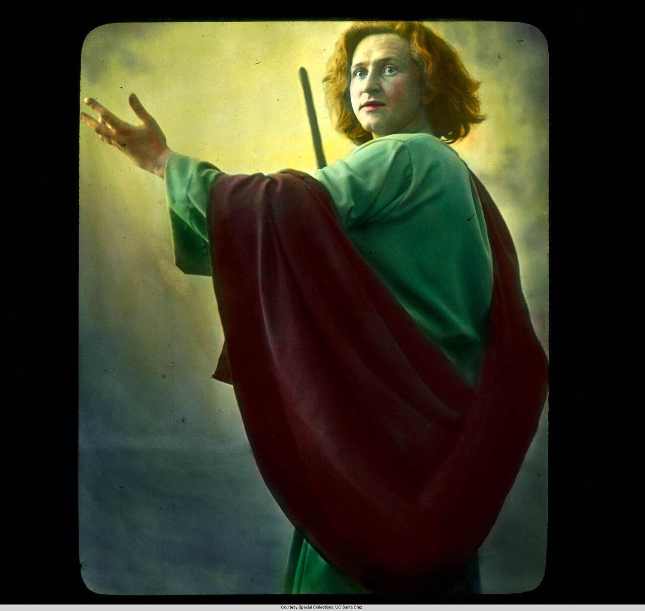 Обераммергау. Страсти Христовы. Ханс Лэнг в роли апостола Иоанна