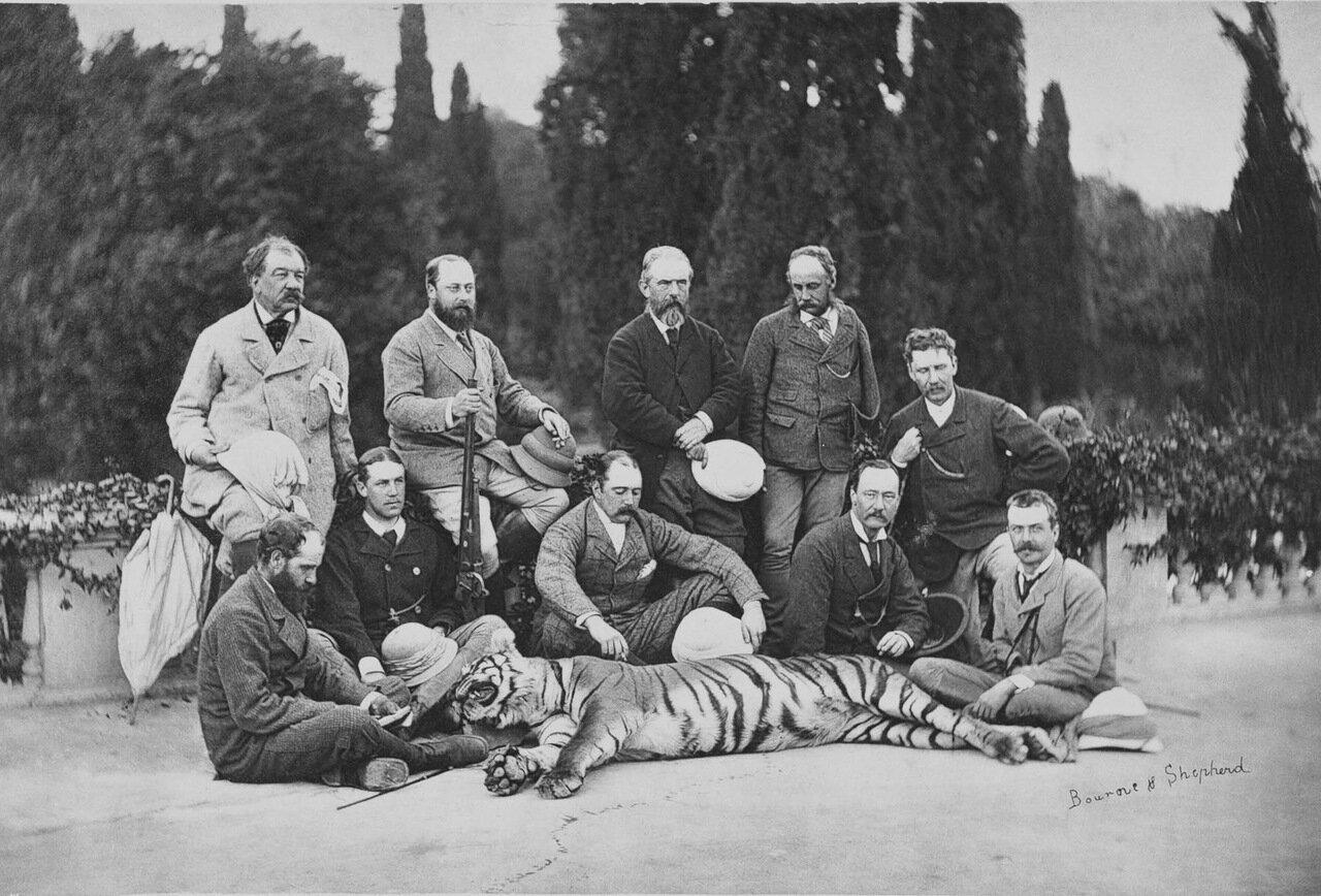 Альберт-Эдуард, принц Уэльский в Индии, 1875 г.